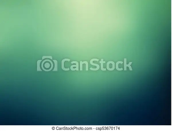 Abstract green color gradient blurred background vector illustration