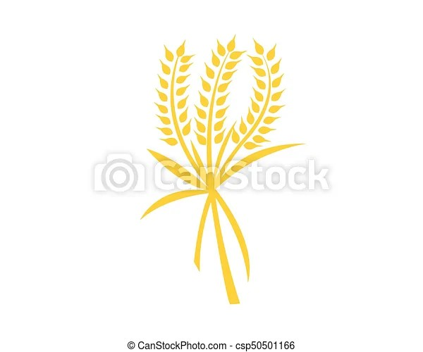 Agriculture wheat logo template vector icon design - wheat template