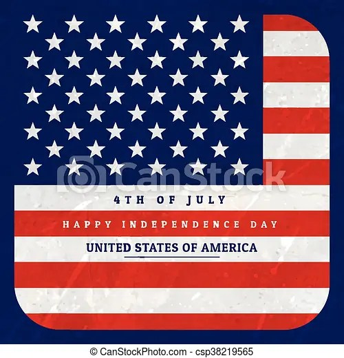 American flag background illustration - America Flag Background