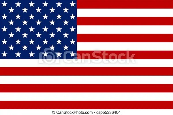 American flag vector image of american flag american flag