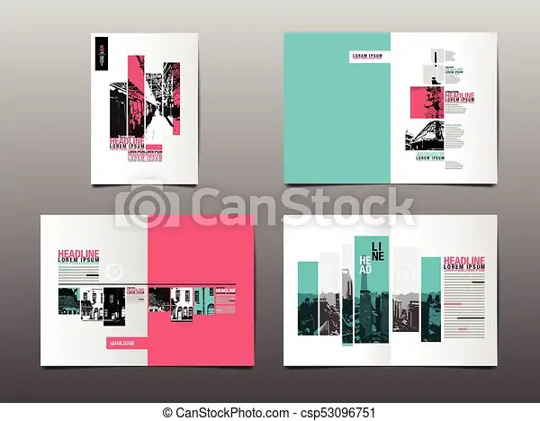 Annual report ,template layout design, cover book vector clipart - annual report template design