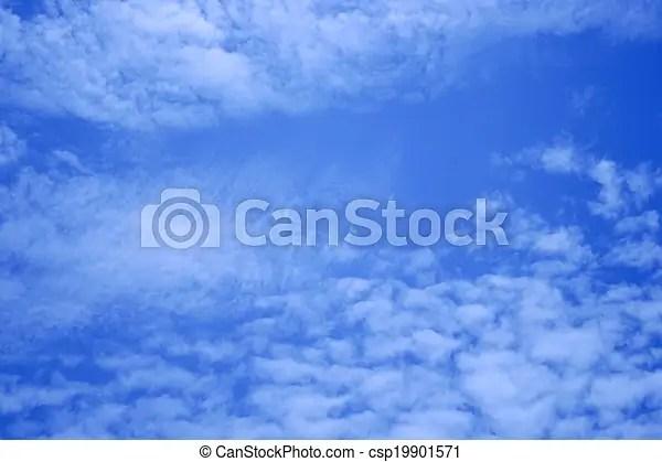 Basic blue sky background - basic blue background