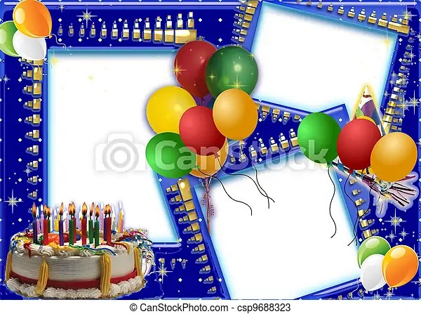 Birthday wishes Birthday card frame for your special persons birthday