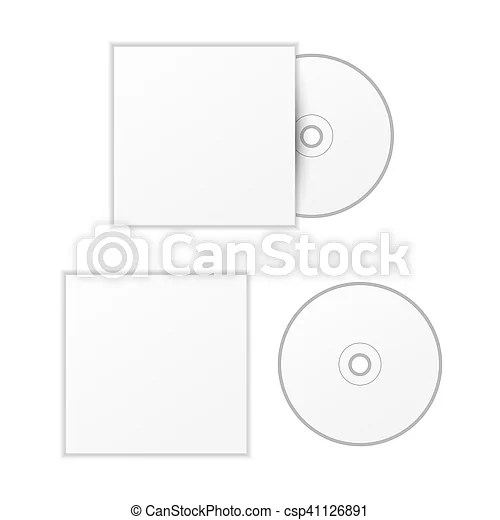 Compact Disc Cover Template | ophion.co