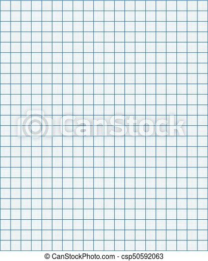Blue graph paper coordinate paper grid paper squared on white
