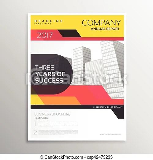 Brand company business brochure or leaflet template design - leaflet template