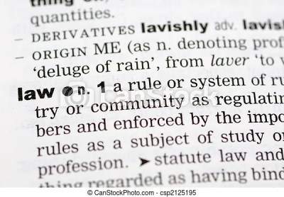 Stock Images of Dictionary definition of law - A close up of the word law... csp2125195 - Search ...