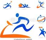 Fitness Icon Clip Art