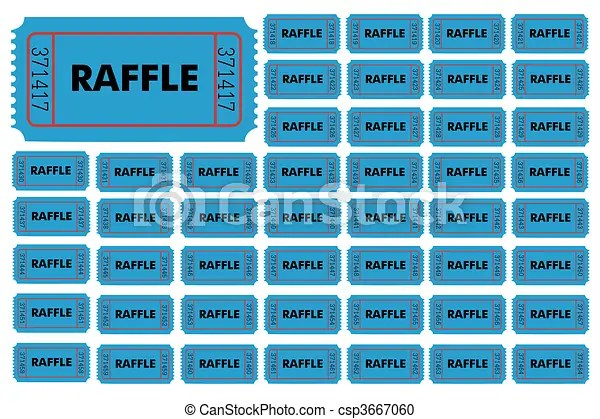 free numbered raffle ticket template 103 Free numbered raffle - numbered tickets template