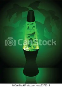 EPS Vectors of Spring lava lamp