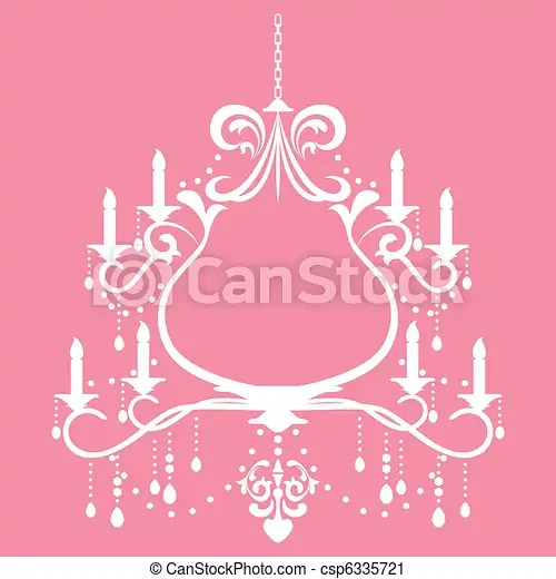 White chandelier frame clipart digital backgrounds Pinterest - coupon template