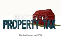 Stock Photo of property tax csp8177232 - Search Stock ...