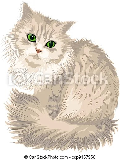 Fluffy And Cute Wallpapers Green Cat Eyes Drawing