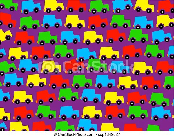 Cute Kid Wallpapers Free Download Cute Colourful Kids Car Wallpaper Background Design Stock