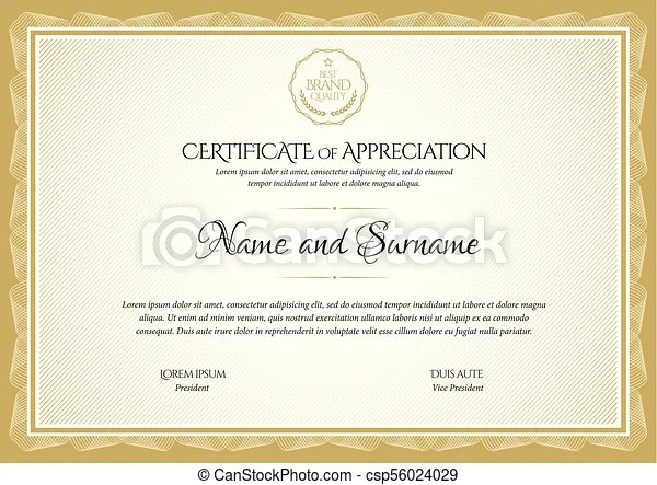 gold certificate border certificate templates blank pink purple