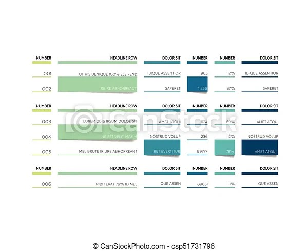 Chart, graph, table, schedule, tab, planner, infographic design - chart and graph