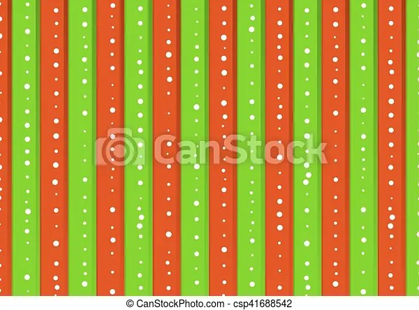 Christmas background with green and red stripes Christmas