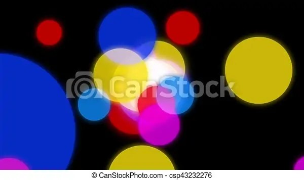 Circles background animation colorful circles slowly scatter in