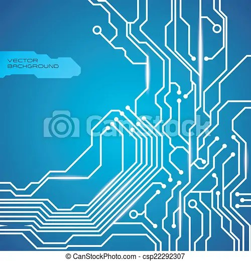 Circuit design  Circuit graphic design , vector illustration - circuit design background