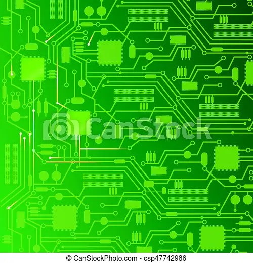Computer circuit board design background Computer circuit board - circuit design background