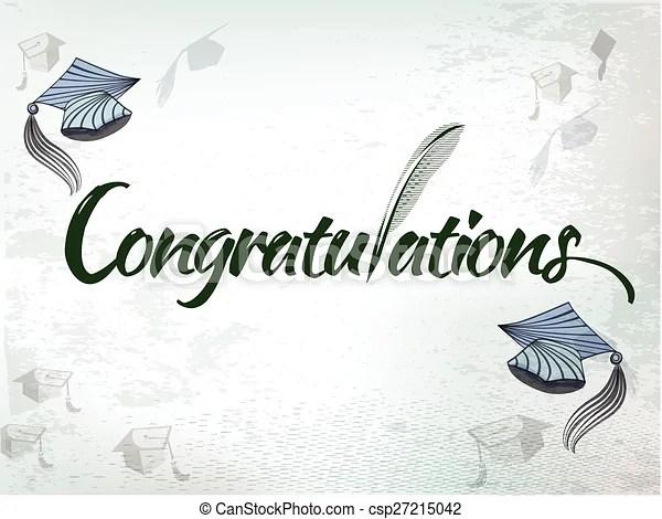 Congratulation textvector Congratulations graduation background - congratulation graduation