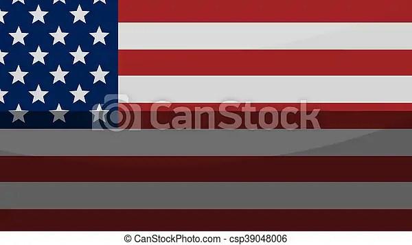 Creative america flag background - America Flag Background