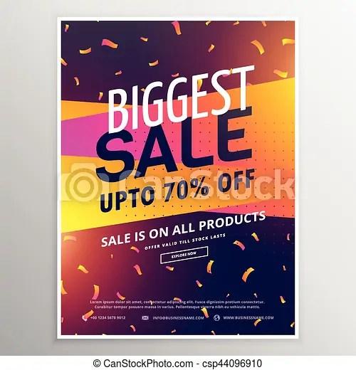 Creative biggest sale discount voucher design - discount voucher design