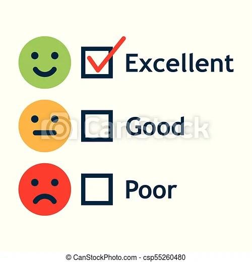 Customer service satisfaction survey form quality control