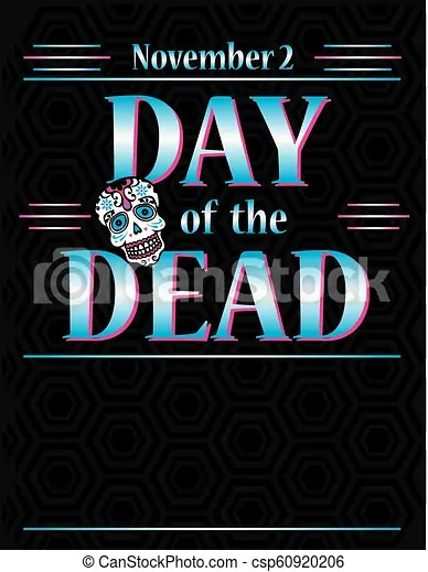 Day of the dead poster template dia de los muertos poster template
