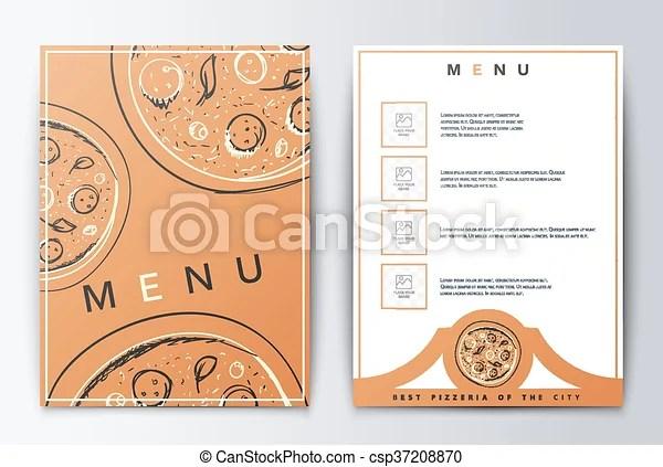 Design menu menu food brochure culinary menu menu background for