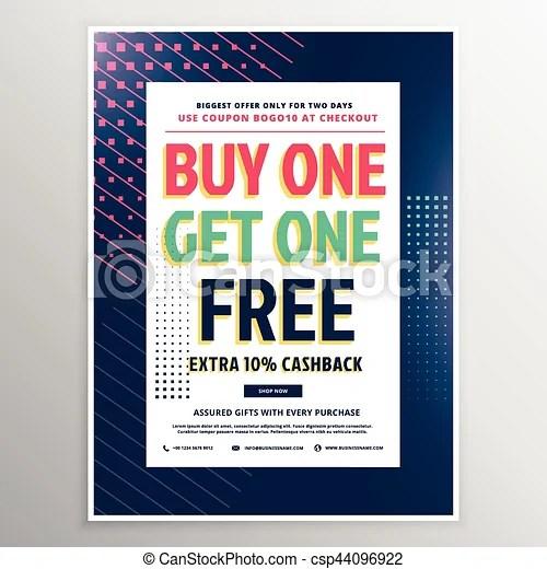 Discount voucher template design for promotion vector illustration - discount voucher design