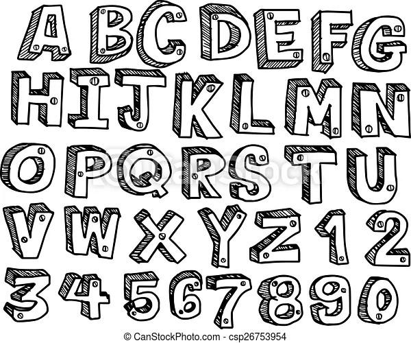 3d letter fonts - Towerssconstruction