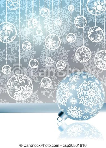 Elegant christmas with snowflakes eps 8 Elegant christmas