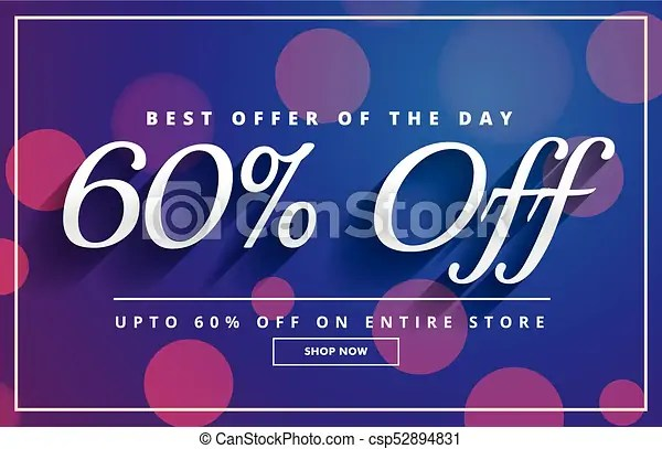 Elegant sale discount voucher template banner design vectors