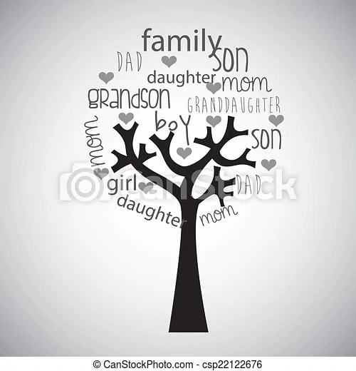 Family tree design , vector illustration vectors illustration
