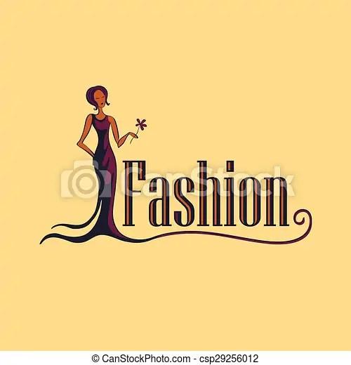 Fashion logo symbol Fashion symbol creative design in vector format