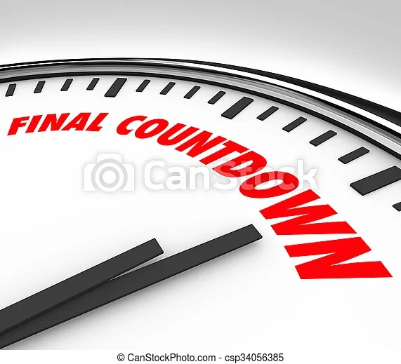 Final countdown clock words deadline last hours minutes pictures