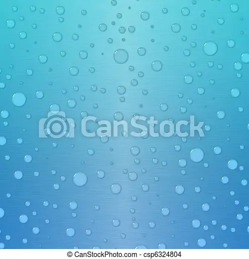 Gradient background in blue and green with waterdrops Transparent
