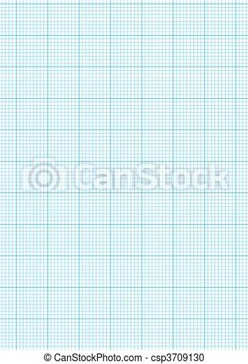 Graph paper a4 sheet Math concept with sheet of blue graph - math graph paper