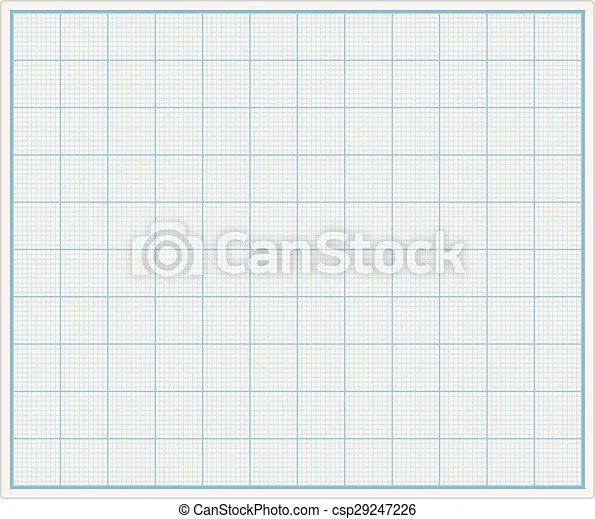 Graph paper Blank graph paper, vector eps10 illustration
