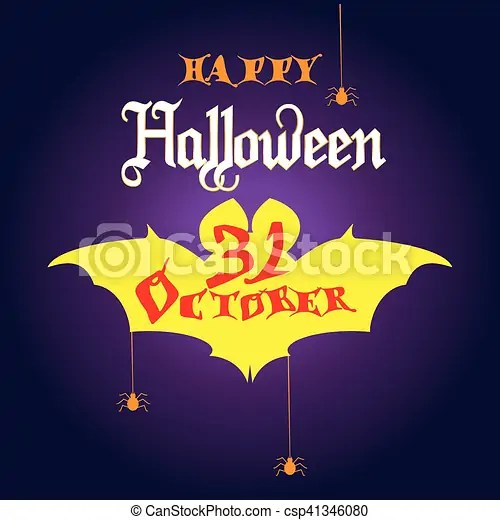 Halloween invitation Halloween party invitation with halloween symbols
