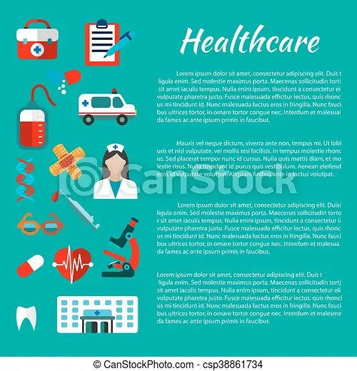 Healthcare and medical poster design Healthcare and hospital poster