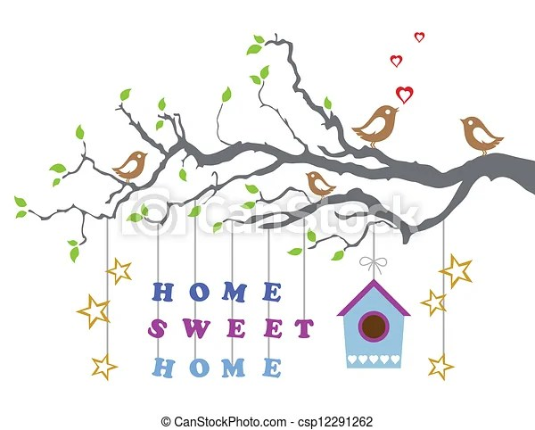 Home sweet home new house card Home sweet home moving into a new