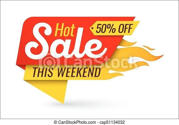 Hot sale price offer deal vector labels templates stickers designs