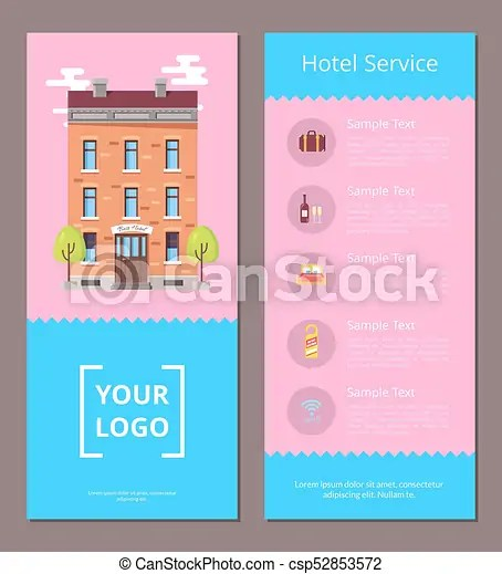 hotel brochure template - Intoanysearch