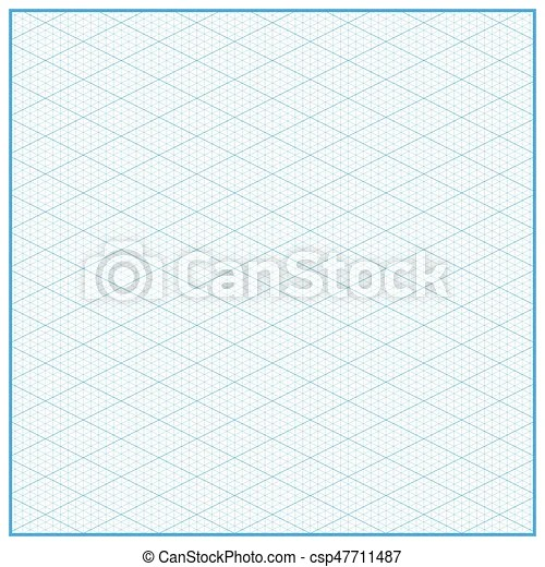 Isometric graph paper layout with 2657 degree background Isometric