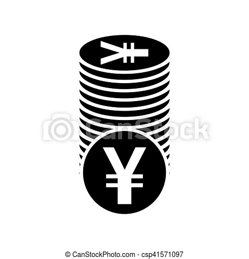 Japanese yen flat icon for apps and websites Japanese yen or - apps symbol