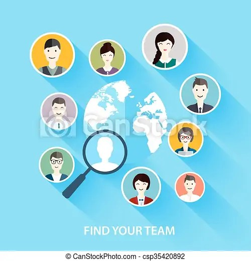 Job search and career human resources management and head hunter - how to find a head hunter