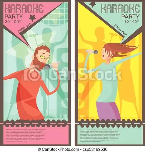 Karaoke party tickets Karaoke party ticket templates with singing - party tickets templates