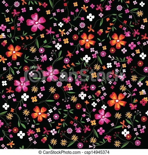 Cute Wallpapers For Summer Little Floral Print Floral Seamless Background Vectors
